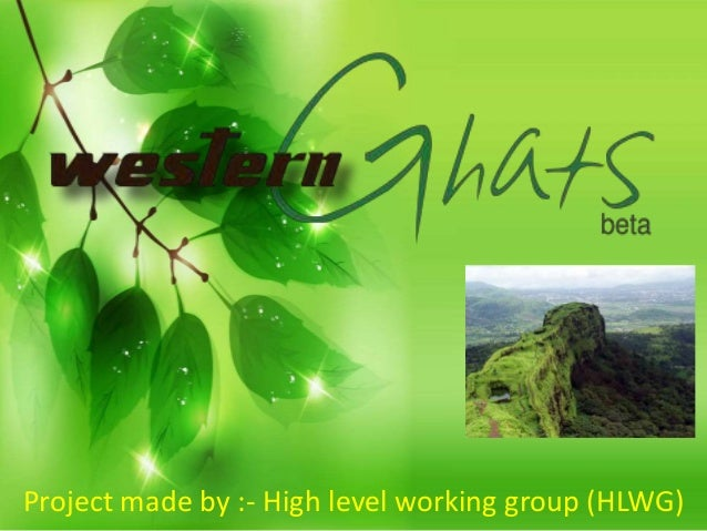 Project made by :- High level working group (HLWG)