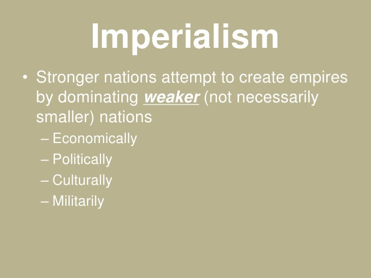 the western imperialism and colonialism What is the difference between colonialism and imperialism imperialism is a concept whereas colonialism is a practice  of africa and asia by the western.