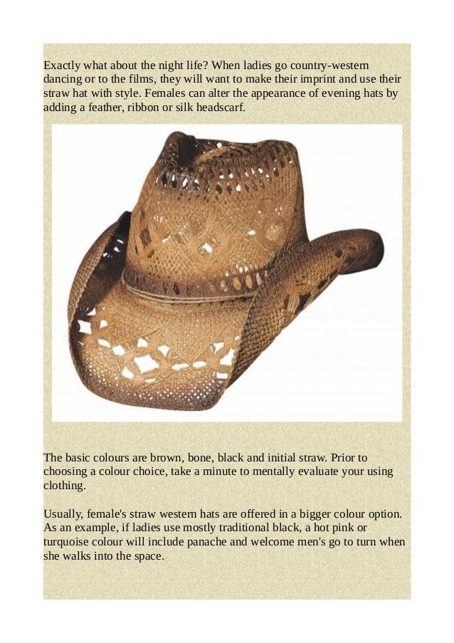 Western straw hat 3694c254ad23