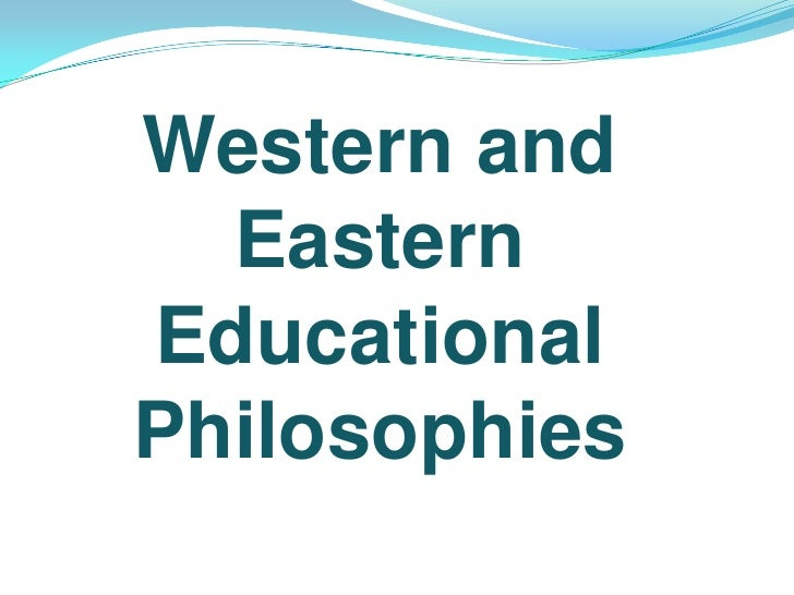 Comparison of Eastern and Western Philosophy