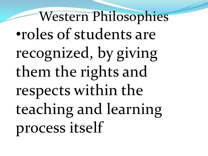 eastern and western philosophers comparison