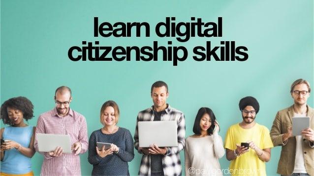Teachand learnabout managing digital reputations. @paulgordonbrown
