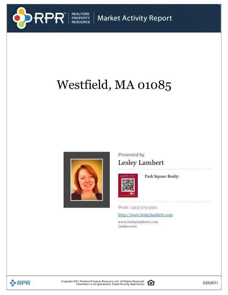 Westfield,MA01085                                                                                            Presented...
