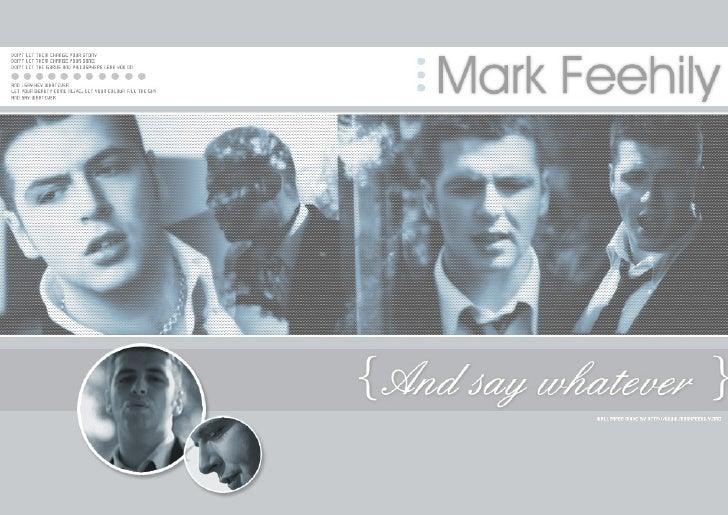Westlife Member: Mark Feehily