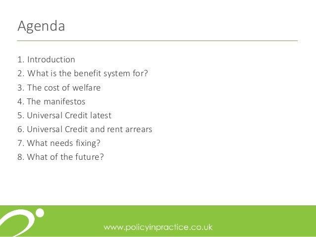 Welfare reforms and reducing rent arrears  Slide 2