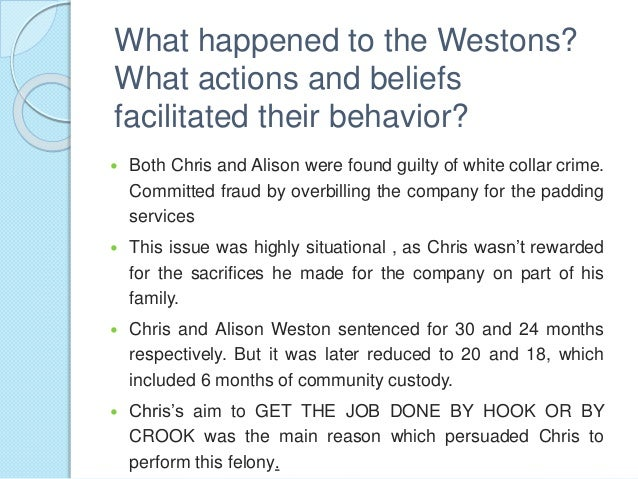 Chris and Alison Weston (A)