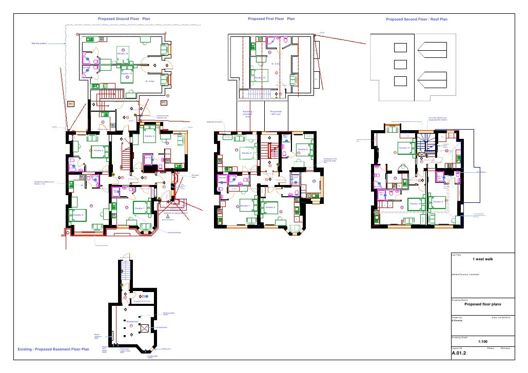 Proposed Ground Floor Plan                                                                                                ...