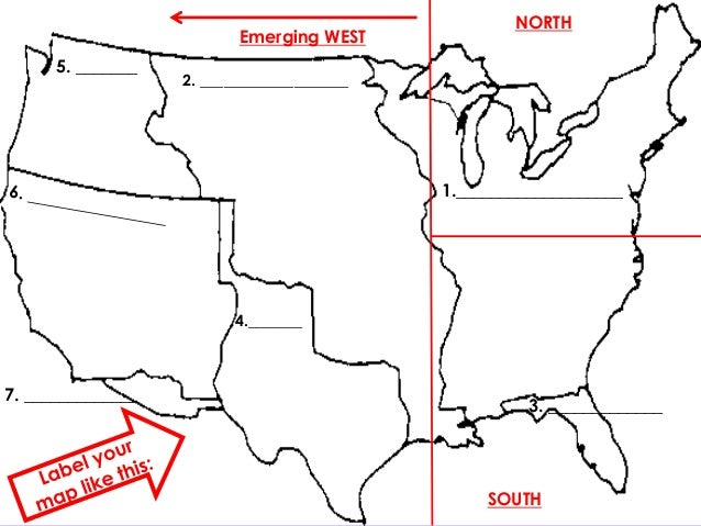 Westward Expansion and Sectionalism – Westward Expansion Worksheets