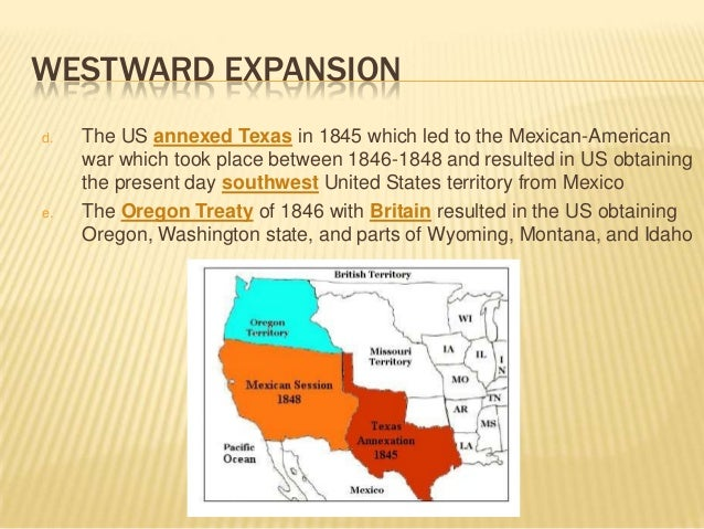 what made the americans to expand westwards from 1803 In the history of the united states, there have been many events that have changed the face of the country events such as the american revolution, civil war, repeal of slavery, prohibition and many other key moments have helped shape the way the united states is today.