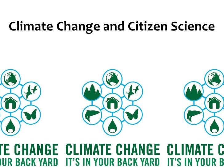 Climate Change and Citizen Science<br />