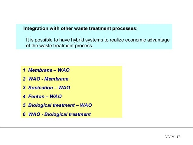 Integration with other waste treatment processes: It is possible to have hybrid systems to realize economic advantage of...
