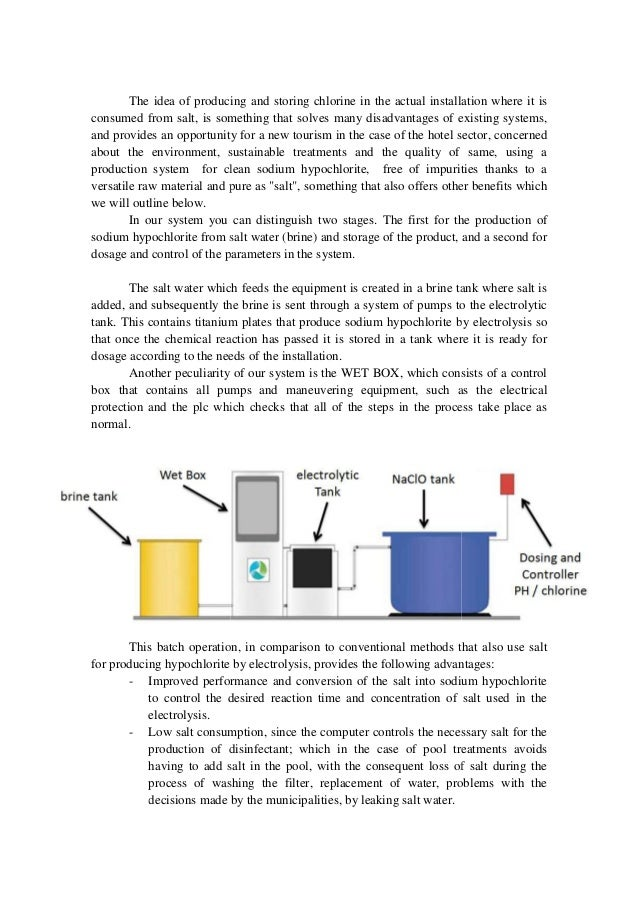Wet sustainable water treatment by electrolysis