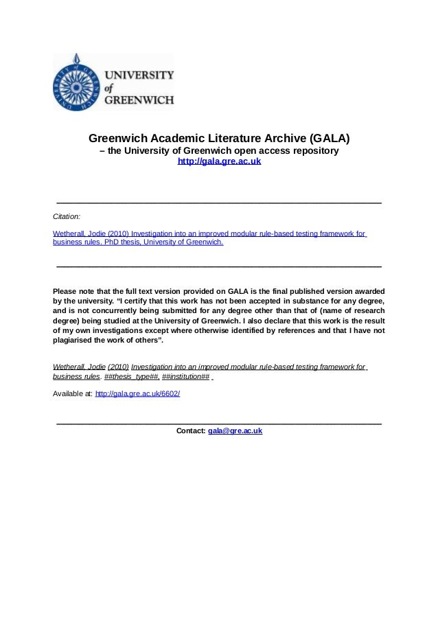 Greenwich Academic Literature Archive (GALA) – the University of Greenwich open access repository http://gala.gre.ac.uk  _...