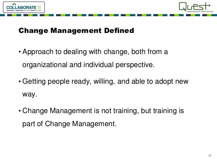 """change management case studies for training The need for decisiveness and communication, the inevitable disruption, and why you'll probably need to break down """"the old ways"""" for successful change management managers can learn a lot from these classic change management case studies."""