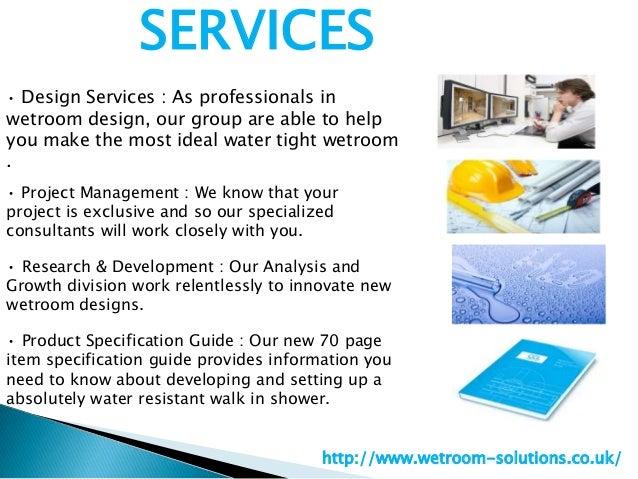 Wetroom solutions Slide 3