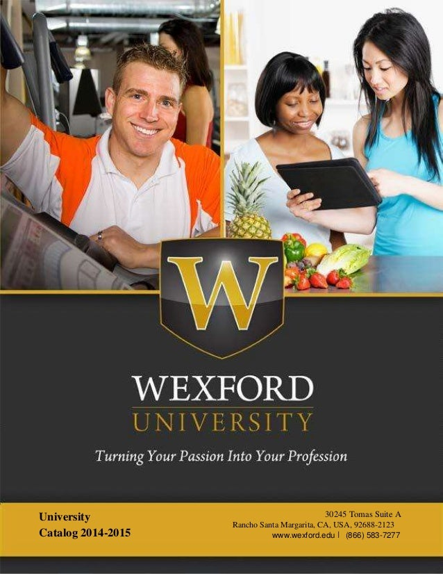 Wexford University Online Personal Trainer Certification