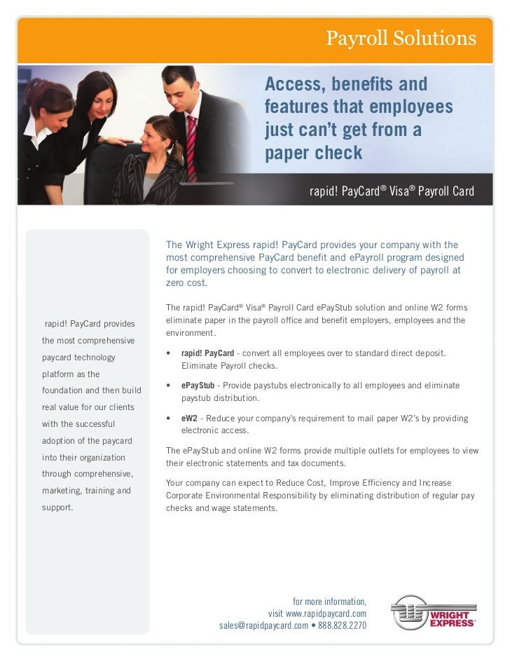 Payroll Solutions                                                       Access, benefits and                              ...