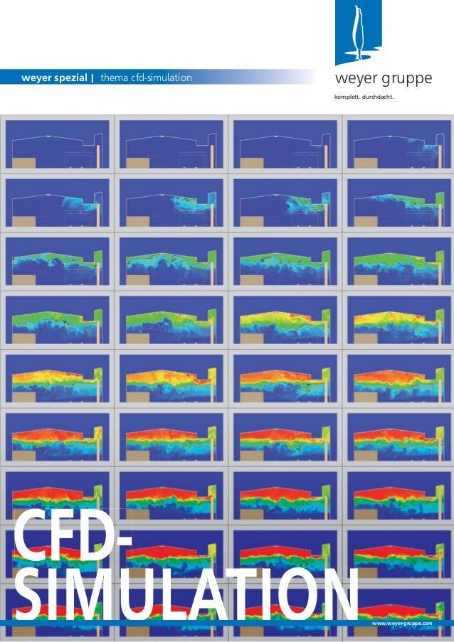 weyer gruppeweyer spezial | thema cfd-simulationkomplett. durchdacht.www.weyer-gruppe.com