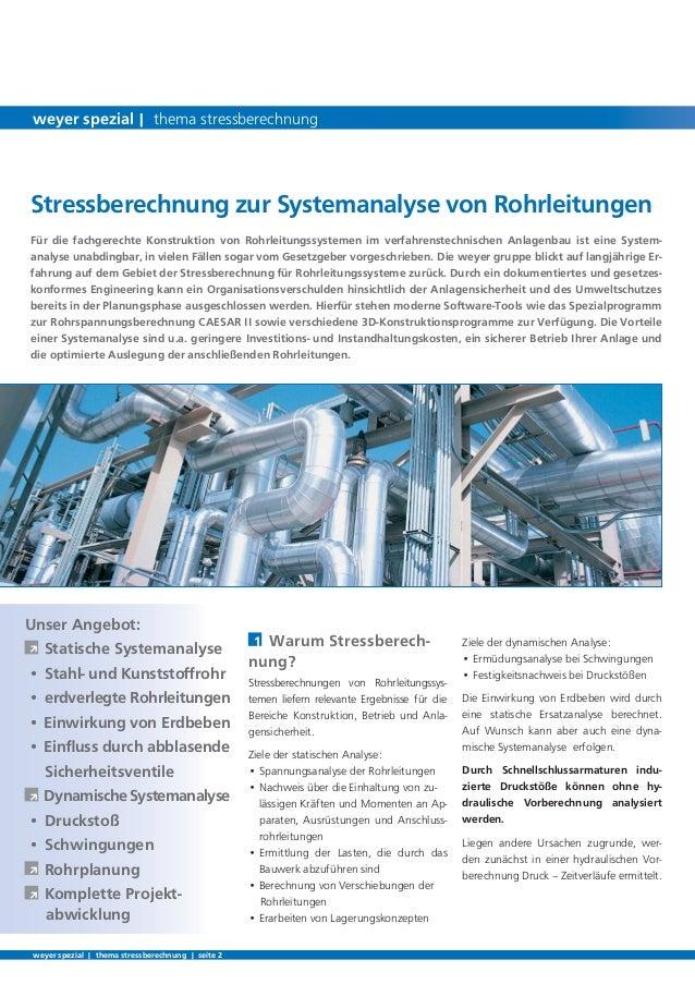 Ziele der dynamischen Analyse:• Ermüdungsanalyse bei Schwingungen• Festigkeitsnachweis bei DruckstößenDie Einwirkung von E...