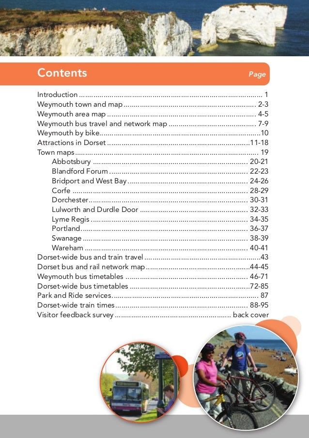 Weymouth Visitor Guide Slide 2