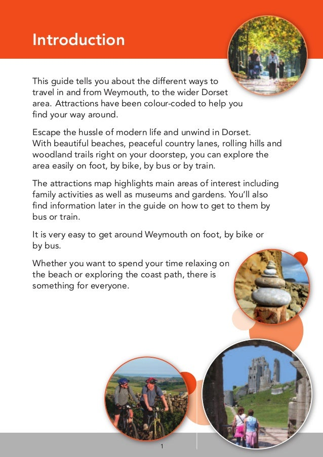Weymouth Visitor Guide Slide 3