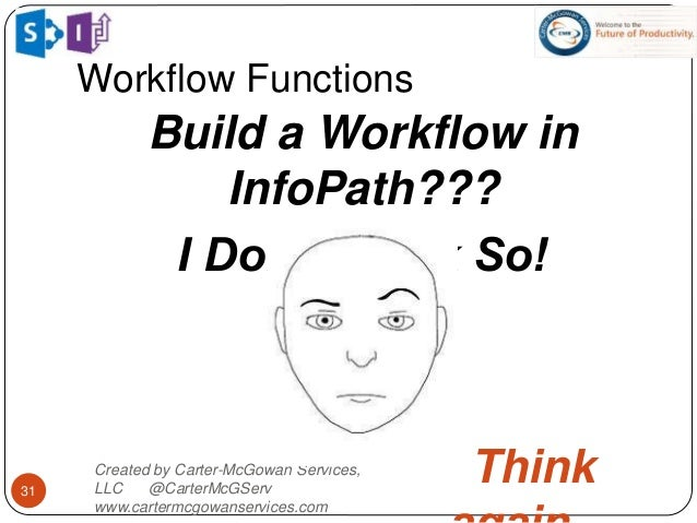 Intro to InfoPath Workflow