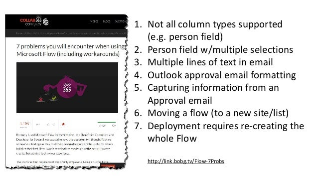 Going with the Flow: Rationalizing the workflow options in SharePoint…