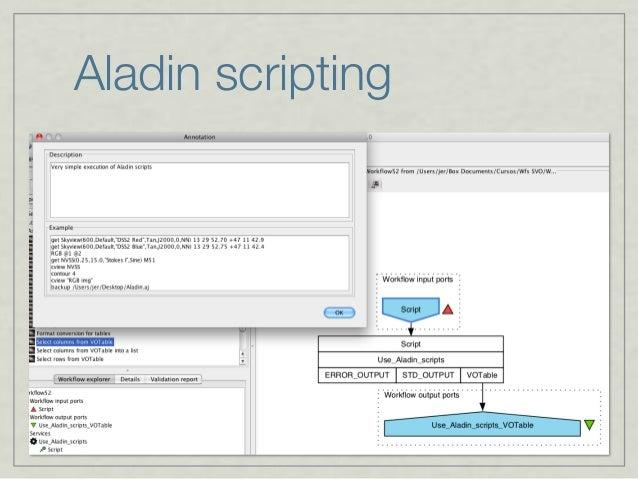 Aladin scripting