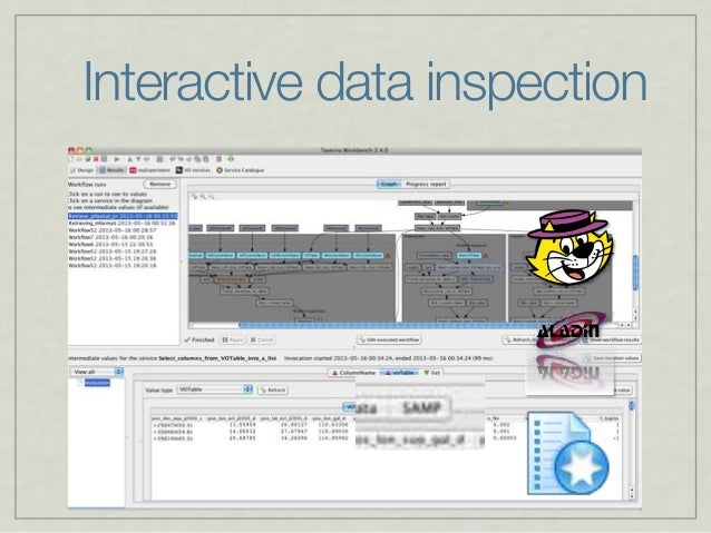 Interactive data inspection