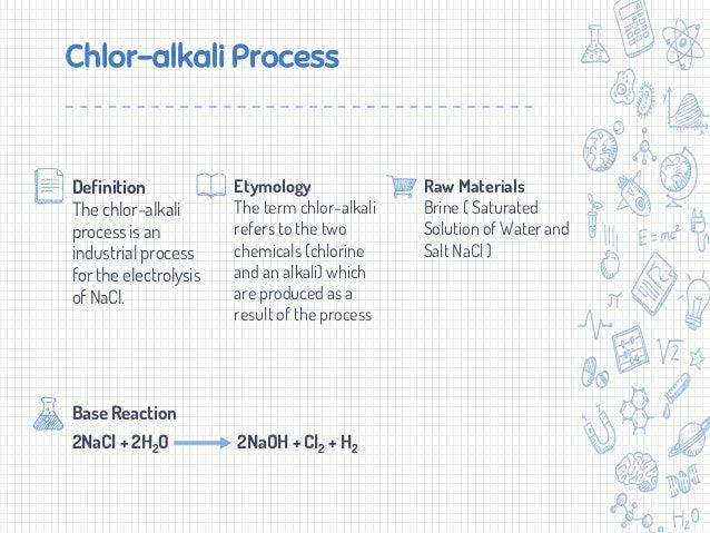 Chlor Alkali Industrial Process