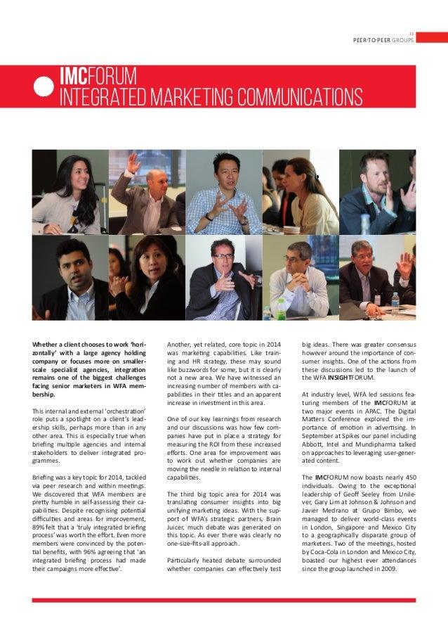 WFA Annual Report 2014