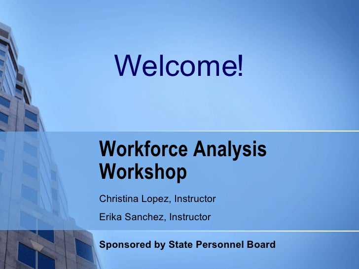 Workforce Analysis Presentation