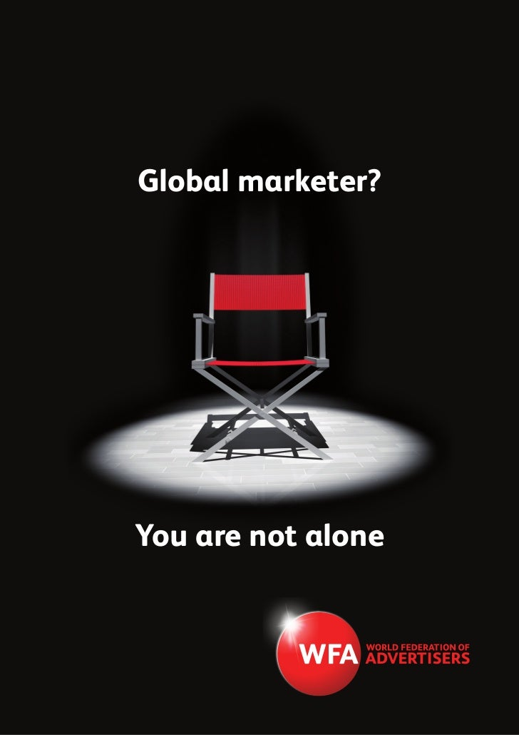 Global marketer?You are not alone