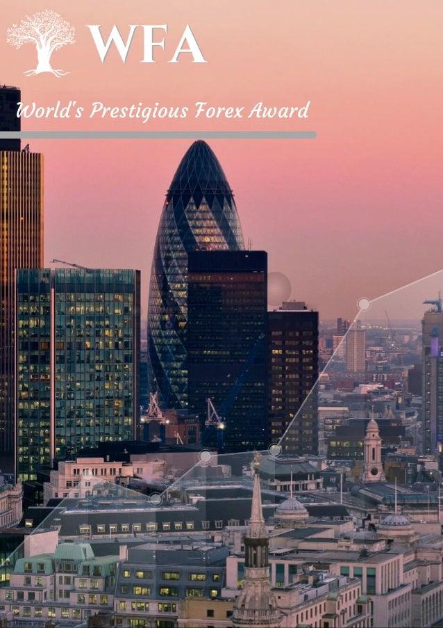 World's Prestigious Forex Award