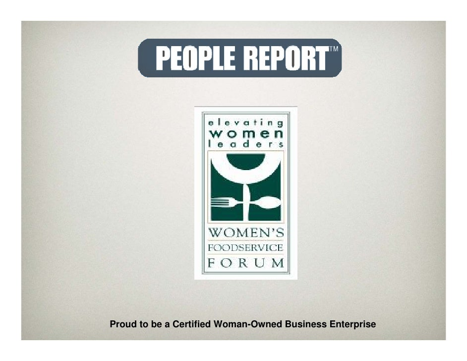 Proud to be a Certified Woman-Owned Business Enterprise