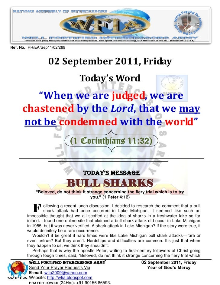 Ref. No.: PR/EA/Sep11/02/269                   02 September 2011, Friday                                    Today's Word  ...