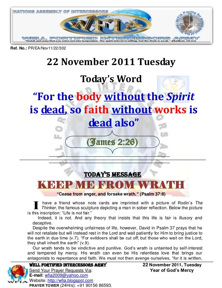 Ref. No.: PR/EA/Nov11/22/302                  22 November 2011 Tuesday                                     Today's Word   ...