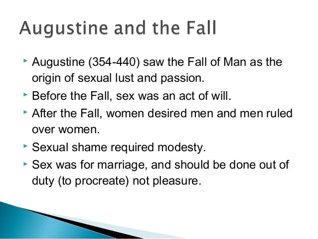 Augustines views on sex ethics