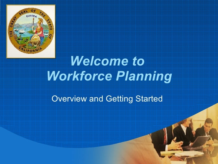 Workforce Planning Overview Workshop Presentation