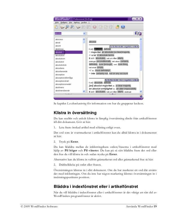absolut dating ordbok gratis Kanada mobil dejtingsajt