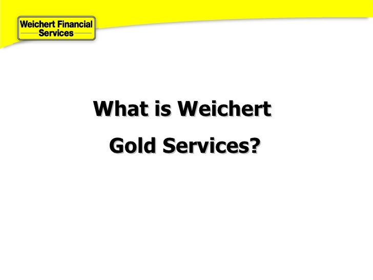 About Weichert Financial Services - Weichert home protection plan