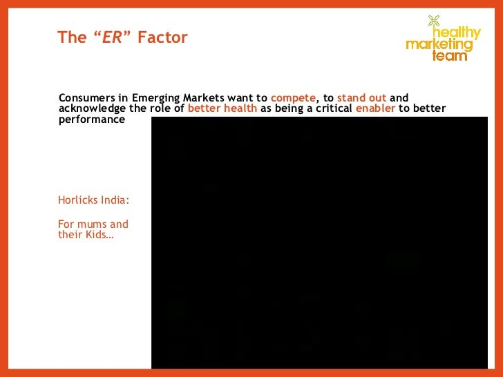 """The """" ER """" Factor <ul><li>Consumers in Emerging Markets want to  compete , to  stand out  and acknowledge the role of  bet..."""