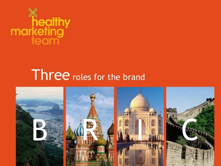 Three  roles for the brand B I R C