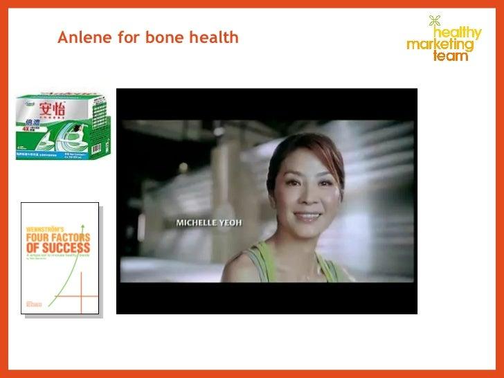 Anlene for bone health