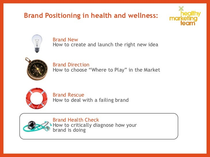 Brand Positioning in health and wellness: Brand New How to  create and launch the right new idea Brand Direction How to ch...