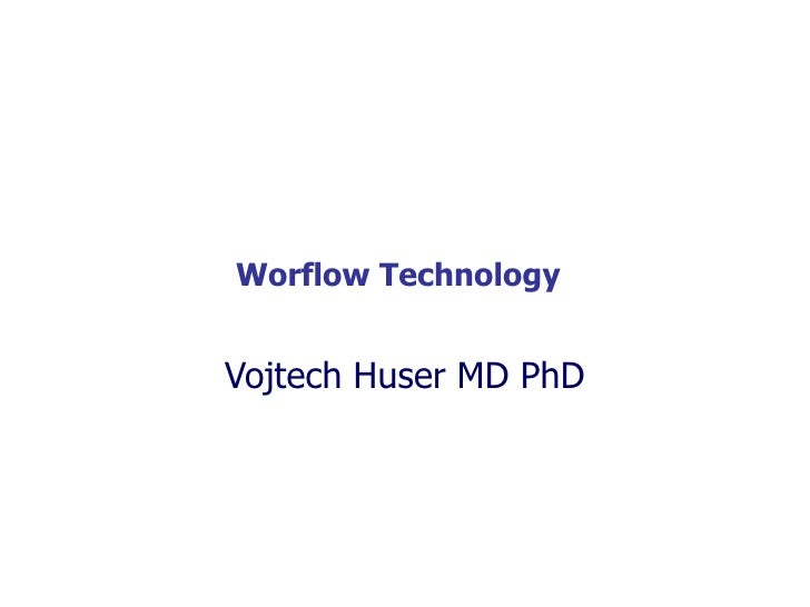 Introduction to workflow technology    Representation of healthcare processes in a workflow      editor and their executio...