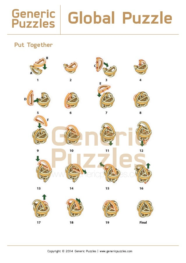 Generic Puzzles Solution - Global Puzzle 3 75