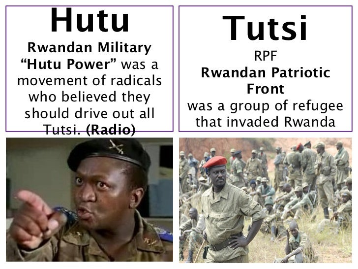 a description of the killings between the tutsis and hutu tribes in rwanda