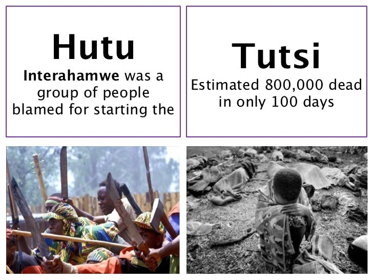 hutus and tutsis Tutsi arrival and settling jonathan spake, one of the first europeans to set foot on tutsi territory the tutsis arrived shortly after the hutus in rwanda and burundi in the 1300s, and they established themselves as feudal rulers shortly thereafter.