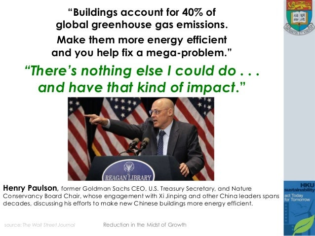 "source: The Wall Street Journal ""Buildings account for 40% of global greenhouse gas emissions. Make them more energy effic..."